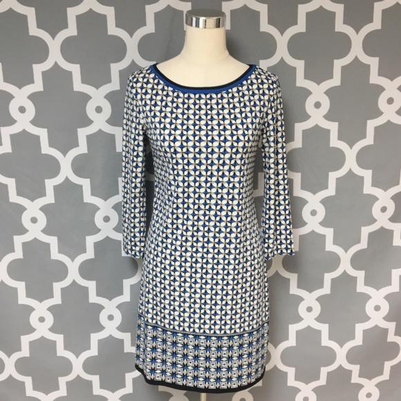 34923394 Max Studio Dresses   Geometric Print Dress   Poshmark